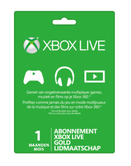 XBOX Live Gold 1 mois
